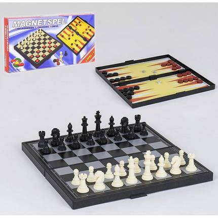 Шахматы пластик С 36815, фото 2