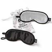 Комплект масок для глаз Fifty Shades of Grey Soft Twin Blindfold Set , фото 1
