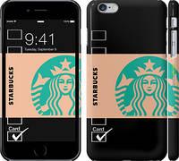 "Чехол на iPhone 6 Plus Starbucks v6 ""3097c-48"""