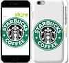 """Чехол на iPhone 6 Starbucks. Logo """"3085c-45"""""""