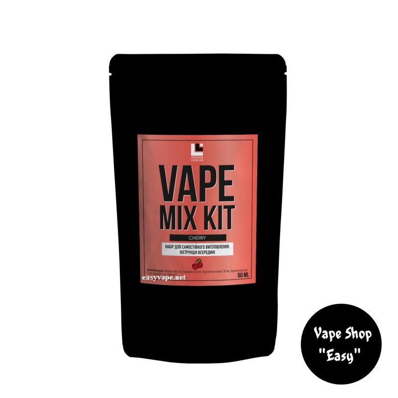 Набор для самозамеса Vape Mix Kit Cherry 60 мл органика.