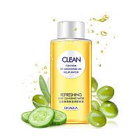 Гидрофильное масло BIOAQUA Clean deep cleansing water 150ml на основе масла оливы и экстракта огурца