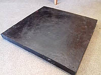 Скребок гумово-армований  для відвалів 40ммх500ммх500мм