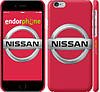 "Чехол на iPhone 6 Nissan. Logo ""3129c-45"""