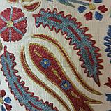 Наволочка сюзане шелк ручная вышивка. Узбекистан (7), фото 2