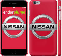 "Чехол на iPhone 6 Plus Nissan. Logo ""3129c-48"""