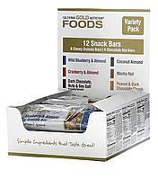 California Gold Nutritional Foods, асорті батончиків - снеків, 12 шт по 40 г
