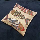 Наволочка сюзане шелк ручная вышивка. Узбекистан (8), фото 3