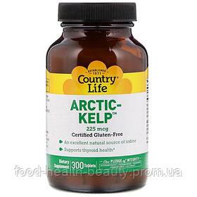 Arctic Kelp (Норвезька ламінарія) 225 300 мкг таблеток ТМ Кантрі Лайф / Country Life