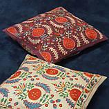 Наволочка сюзане шелк ручная вышивка. Узбекистан (11), фото 5