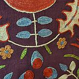 Наволочка сюзане шелк ручная вышивка. Узбекистан (11), фото 3