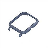 Amazfit GTS Комплект для смарт часов (ремешок и бампер), Gray-blue, фото 3