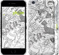 "Чехол на iPhone 6s Crazy Doodles ""1851c-90"""