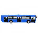 Автобус из серии Автопром, синий, фото 2