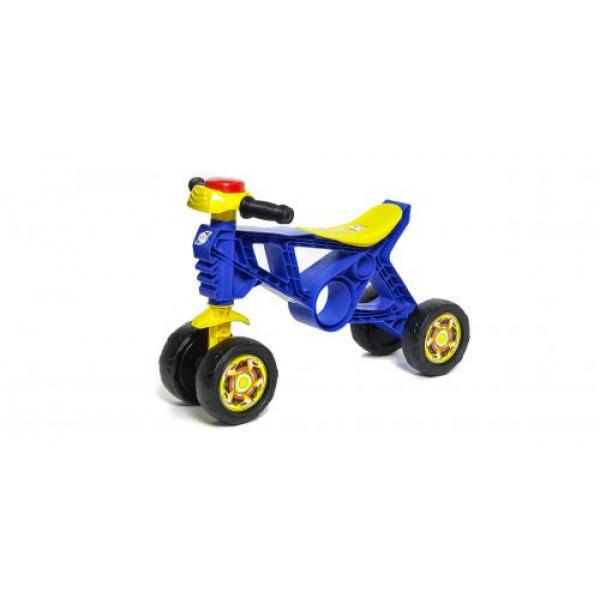 """Мотоцикл пластиковый """"Беговел-2"""" (синий) 188_С"""