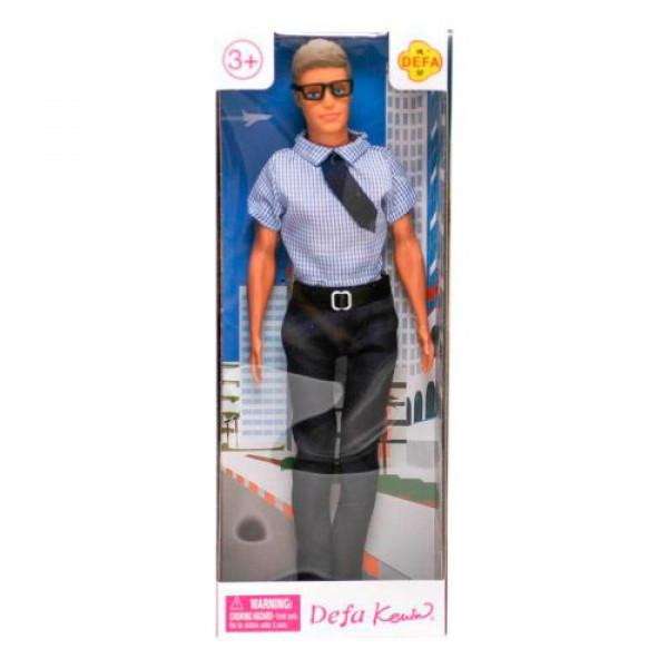 Кукла Defa Kenin офисный работник в голубой тениске