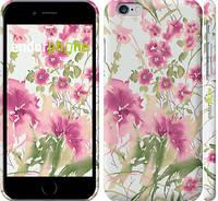 """Чехол на iPhone 6s Узор из цветов """"509c-90"""""""