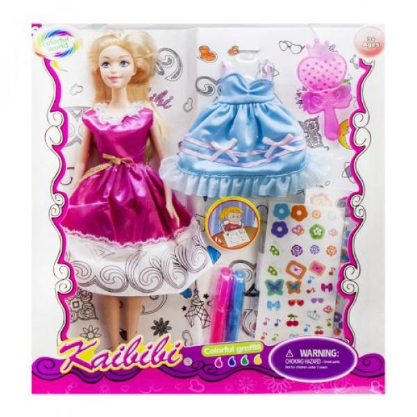 Кукла Kaibibi Модельер в малиновом