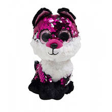 Мягкая игрушка Глазастик с пайетками: лисичка