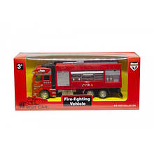 Металлическая пожарная машина