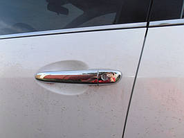 Mazda 3 2009-2013 рр. Накладки на ручки (4 шт, нерж)