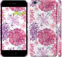 "Чехол на iPhone 6s Цветочный узор v2 ""1163c-90"""