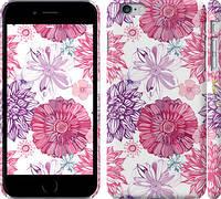 "Чехол на iPhone 6s Plus Цветочный узор v2 ""1163c-91"""