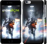 """Чехол на iPhone 6s Battlefield - стрельба """"154c-90"""""""