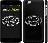 """Чехол на iPhone 6s Plus Hyundai. Logo """"3156c-91"""""""
