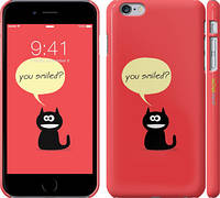 "Чехол на iPhone 6s Plus Ты улыбнулся? ""760c-91"""