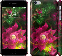"""Чехол на iPhone 6s Plus Абстрактные цветы 2 """"818c-91"""""""