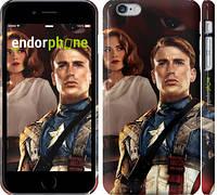 """Чехол на iPhone 6s Plus Первый мститель """"2580c-91"""""""