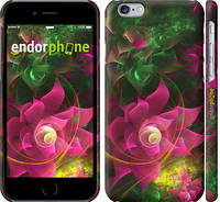 """Чехол на iPhone 6s Абстрактные цветы 2 """"818c-90"""""""