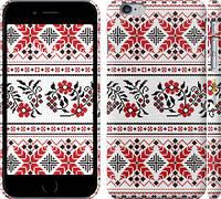 """Чехол на iPhone 6s Plus Вышиванка 48 """"1249c-91"""""""
