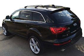 Audi Q7 2005-2015 гг. Поперечный багажник (2 шт, алюминий) Черный цвет