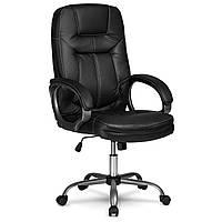 Офісне Крісло комп'ютерне Sofotel EAGO 355 (чорний колір)