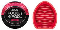 Компактный мастурбатор Zolo Pocket Pool 8 Ball