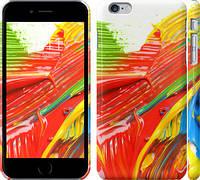 "Чехол на iPhone 6s Plus Краски ""1043c-91"""