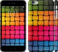 "Чехол на iPhone 6s Plus Радужный Твист ""2858c-91"""