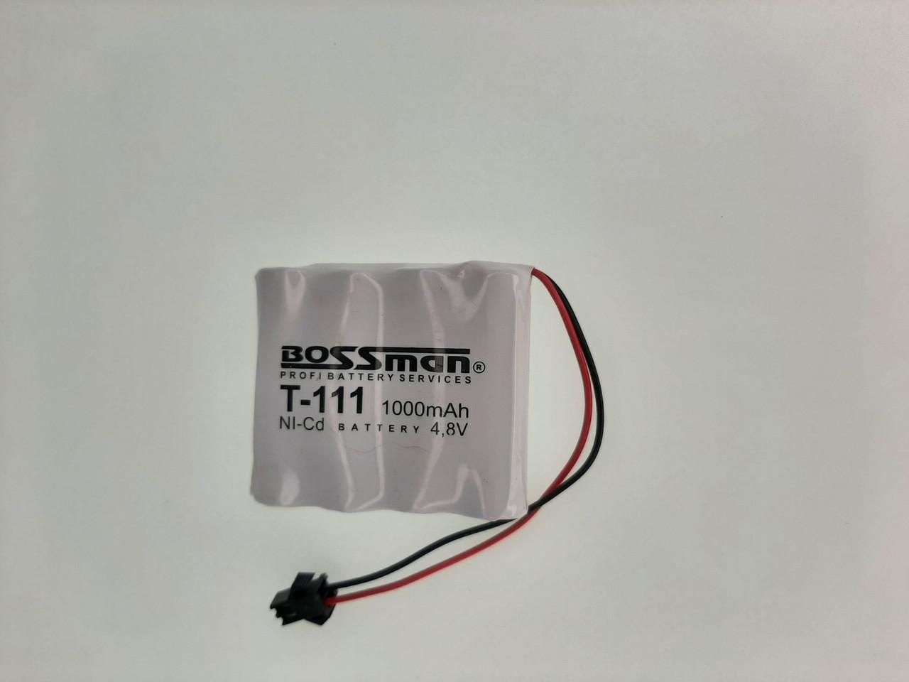 Аккумулятор для детских игрушек Ni-CD, 4.8V 1000mAh Bossman-Profi T-111