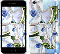 "Чехол на iPhone 6s Plus Металлические цветы ""1921c-91"""