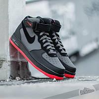 Кроссовки мужские Nike Air Force 1 Mid (реплика)