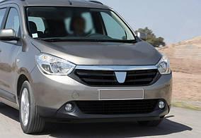 Dacia Lodgy 2013↗ рр. Смужка над решіткою (2015-2021, нерж.)