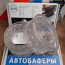 Автобаферы 30мм межвитковые силиконовые прозрачные