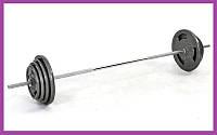 Разборная штанга для дома на 80 кг,Гантели и штанги стальные для фитнеса, Штанги грифы диски металлические