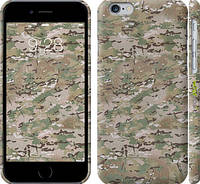 "Чехол на iPhone 6s Камуфляж v5 ""1201c-90"""