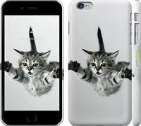 "Чехол на iPhone 6s Plus Летящий котёнок ""2322c-91"""