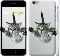 """Чехол на iPhone 6s Летящий котёнок """"2322c-90"""""""