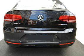 Кромка багажника (нерж) Volkswagen Passat B8 2015↗ гг.