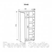 Шкаф-гардероб 72, фото 3